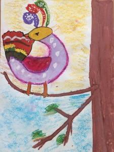 """Вельська Софія, 6 років """"Райський птах"""""""